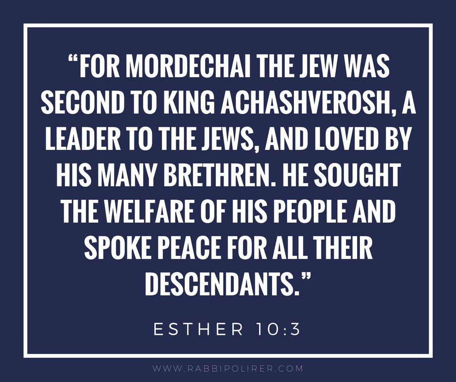 Quote from the Story of Purim