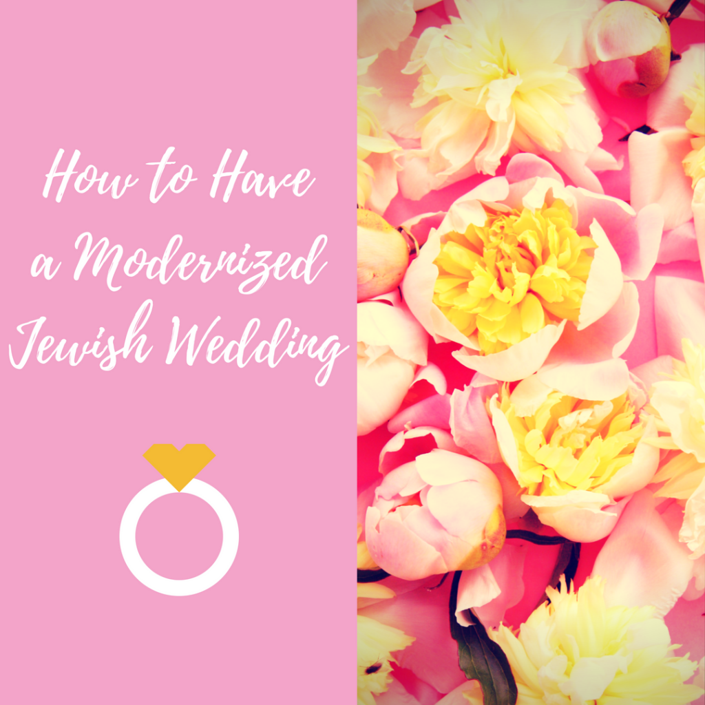 Graphic for Modern Jewish Wedding